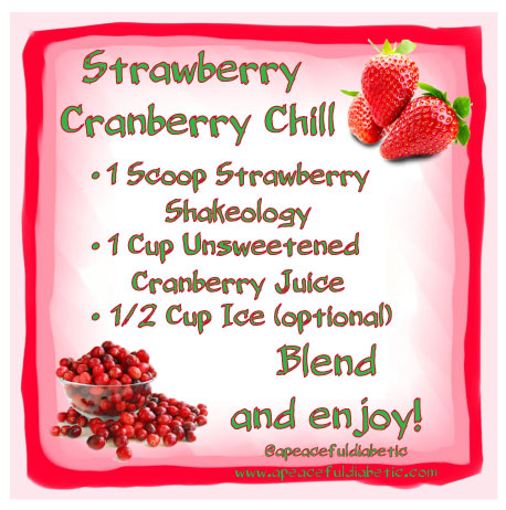 Strawberry Cranberry Chill