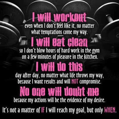 i will workout