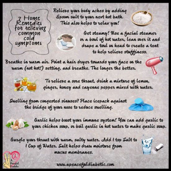 7 Home Remedies for Common Cold