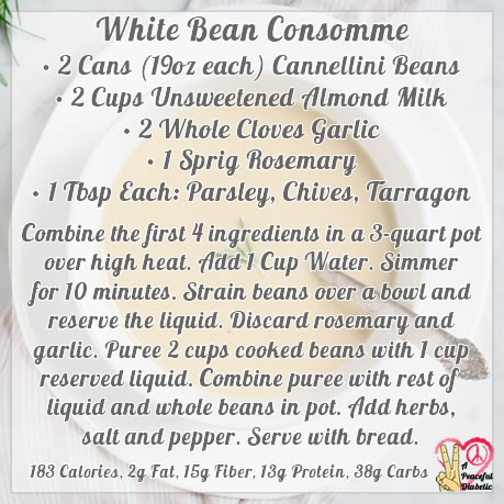 White Bean Consomme
