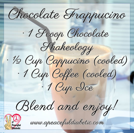 Chocolate Frappucino