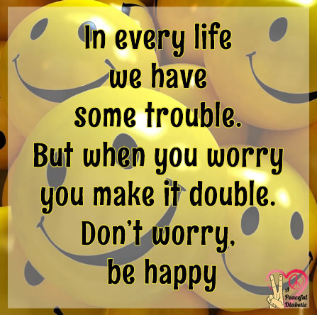 Lyrics of don worry be happy