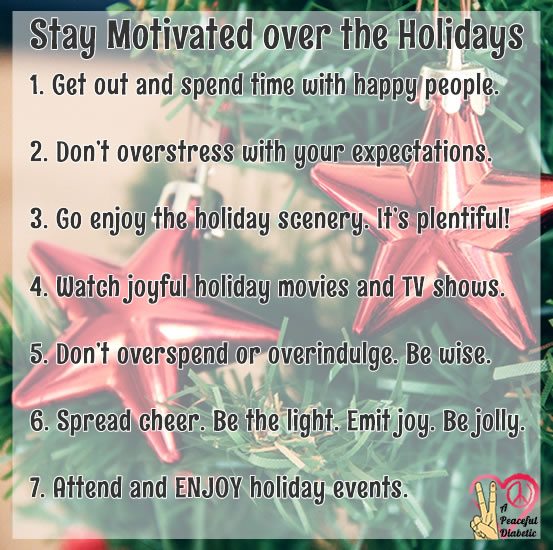 Stay Motivated over the Holidays