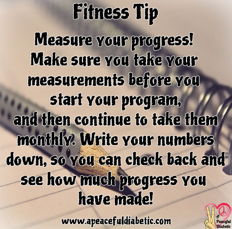 Fitness Tip - Measure Your Progress