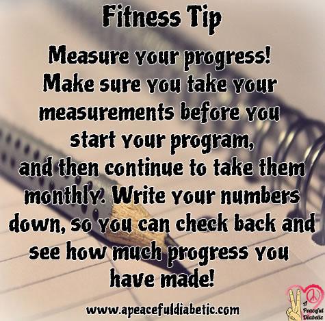 Fitness Tip - Measure Your Progress