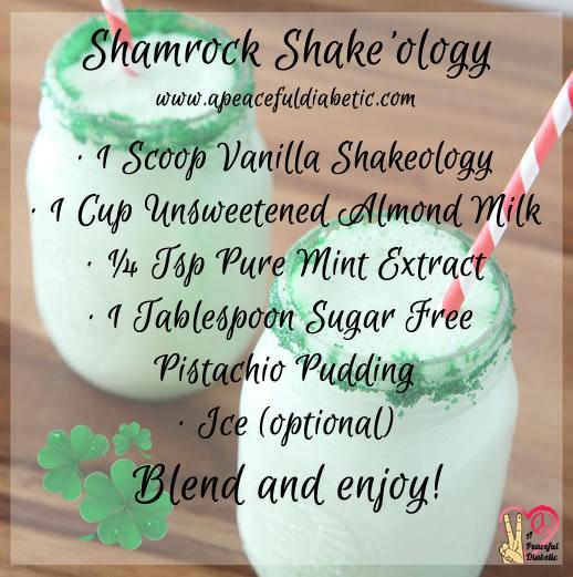 Shamrock Shake'ology