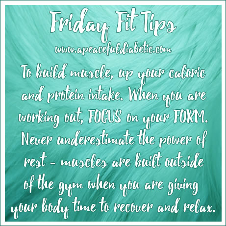 friday fit tip - building muscles