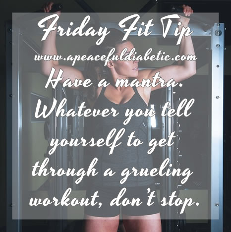 Fit Tip - Have a Mantra