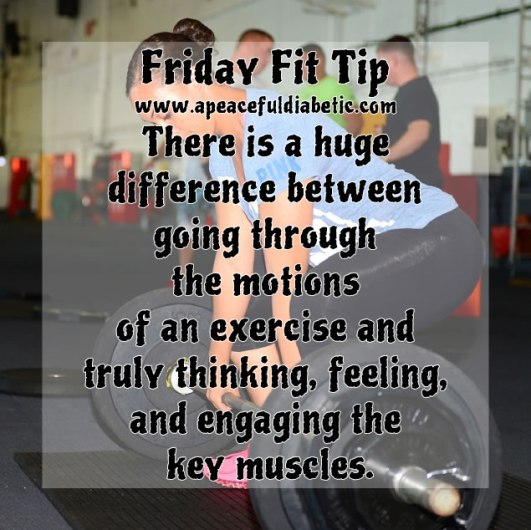 Fitness Tip - Engaging the Key Muscles