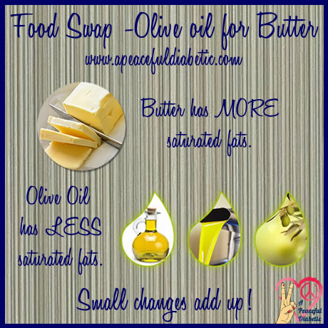 Food Swap - Olive Oil for Butter