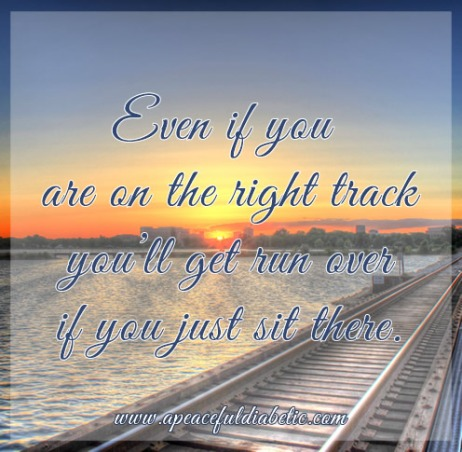 even if you are on the right track
