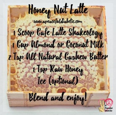 Honey Nut Latte