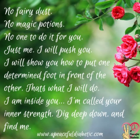 I am your inner strength.