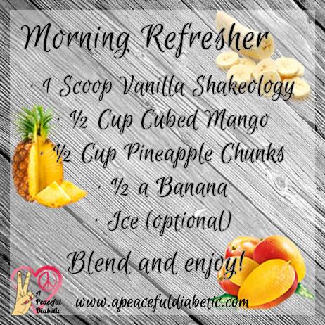 Morning Refresher