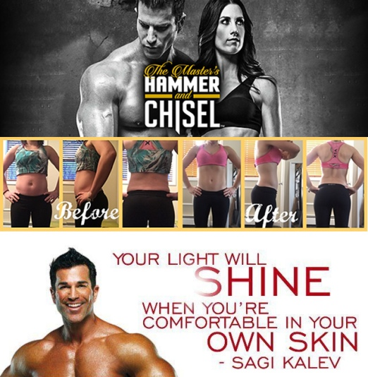 next round hammer and chisel