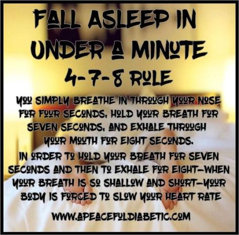 4-7-8 Sleep Rule