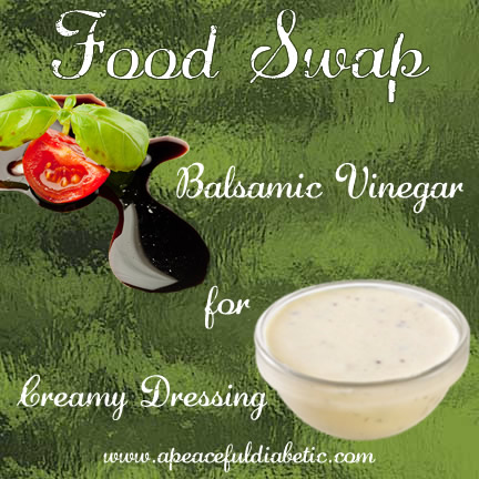 Balsamic for Creamy Salad Dressing