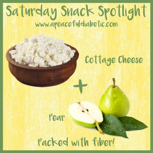 Cottage Cheese and Pear