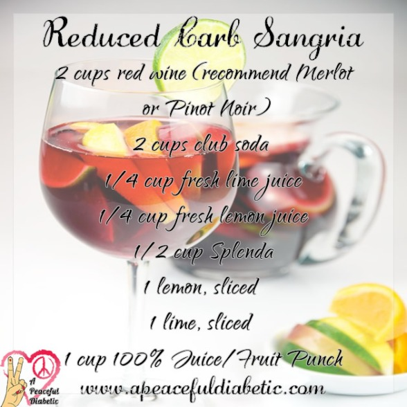 Reduced Carb Sangria
