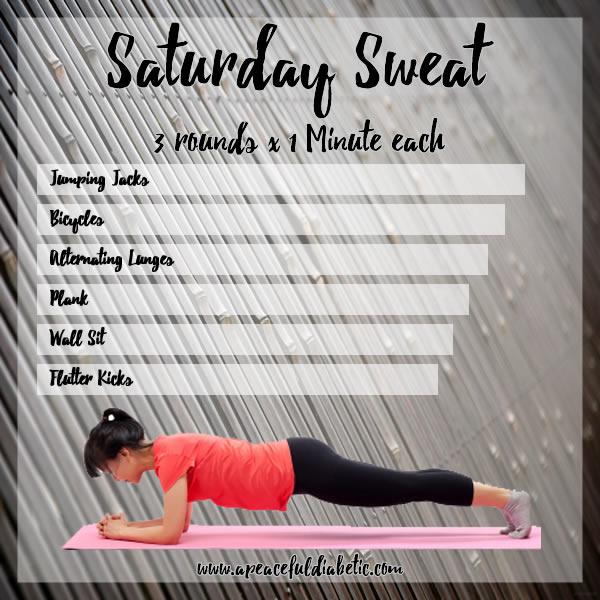 Saturday Sweat 1