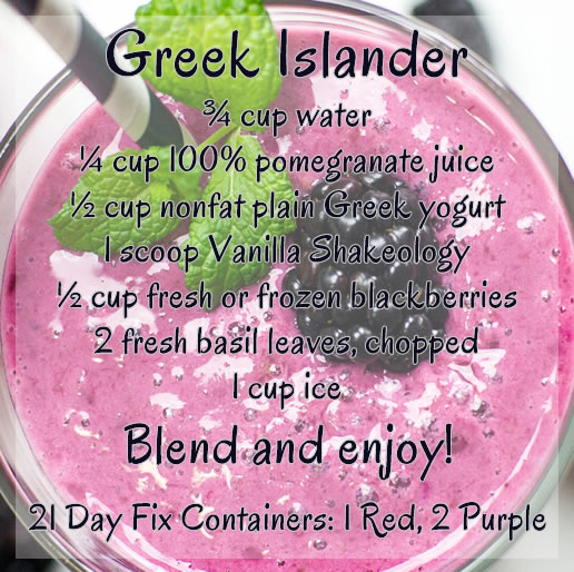 Greek Islander Shakeology